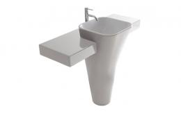 Umivaonik s policom Meg11